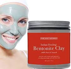 Bentonite clay mask for eczema sufferers
